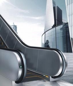 公交型扶梯